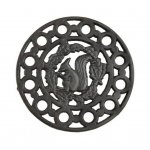 Morso - accessories for stoves and fireplaces - rosette for the stove - squirrel
